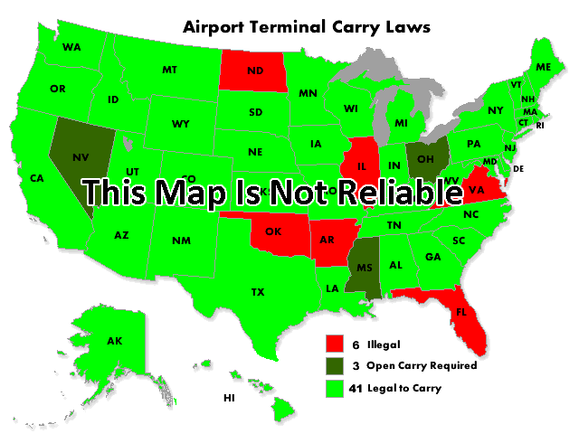 airport terminal carry maps aren t always reliable and could